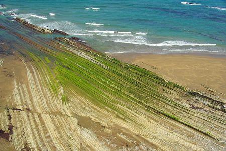 seacoast: Costa Vasca near Zumaia 15