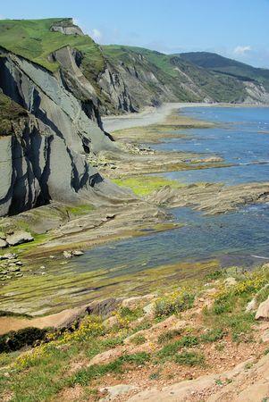 seacoast: Costa Vasca near Zumaia 34