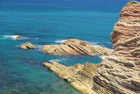 seacoast: Costa Vasca near Zumaia 41