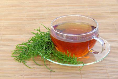 horsetail: tea field horsetail Stock Photo