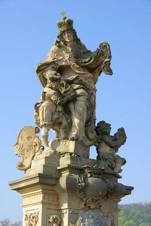statuary: Charles Bridge statue 03