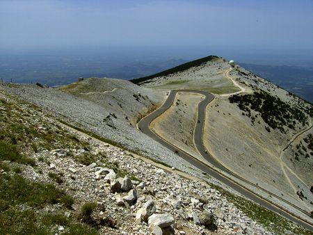 mont: Mont Ventoux Stock Photo