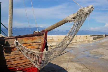 fishing net 04 Stock Photo - 5208895