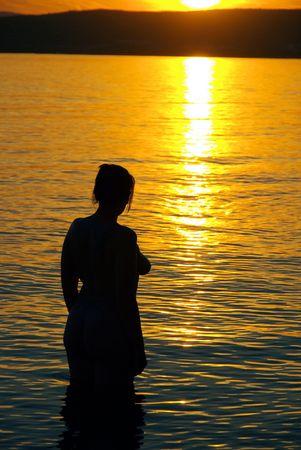 romantic beach photo