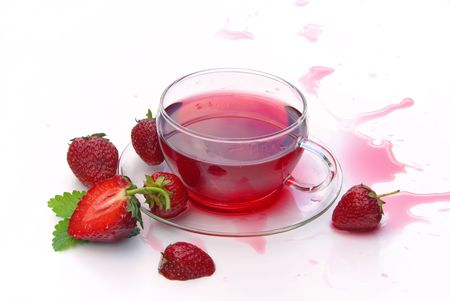 strawberry tea 03 photo