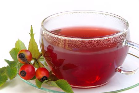 rose hip tea Stock Photo - 5328715