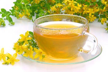 tea St Johns wort photo
