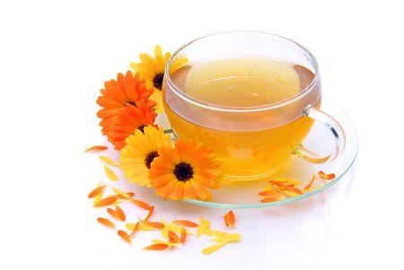 tea marigold 06 Stock Photo - 5208830