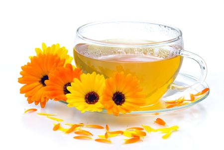 tea marigold Stock Photo - 5287453