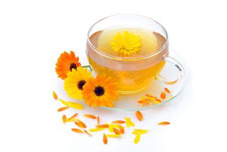 marigold: tea marigold Stock Photo