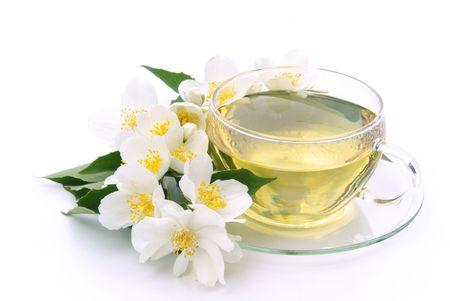 jasmine flower: Jasmine tea 03