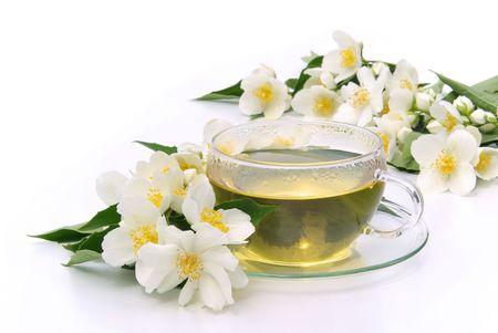 Jasmine tea Stock Photo - 5271850