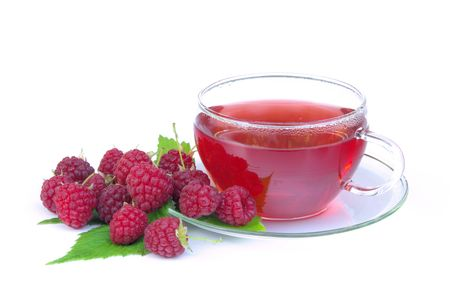 raspberry tea 03 photo