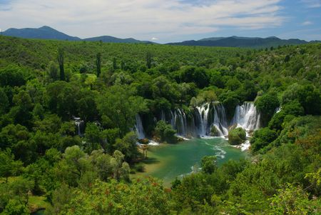 Kravica waterfall 11 photo