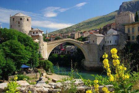 mostar: Mostar 13 Stock Photo