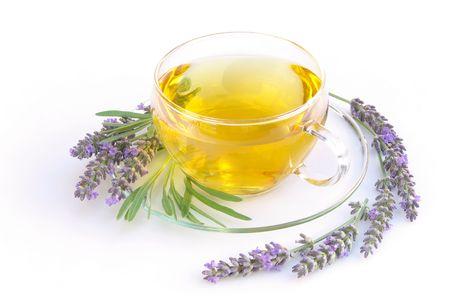 lavender tea 04 Stock Photo - 5328646
