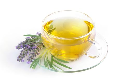 lavender tea photo