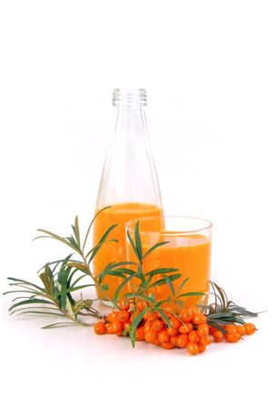 sallow thorn juice  photo