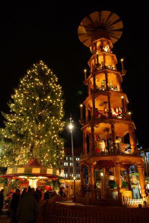 Dresden christmas market Stock Photo - 5804651