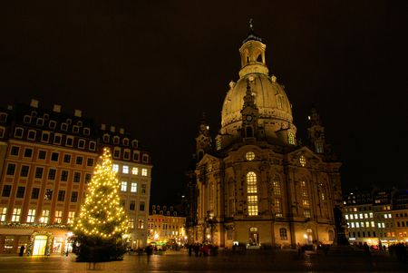Dresden christmas market photo
