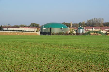 agrar: biogas plant 43