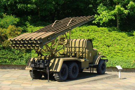 Katyusha rocket launcher 03 Stock Photo - 5974304