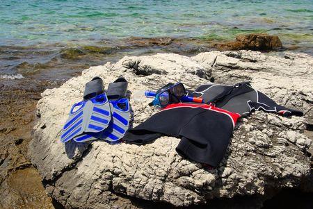 diving equipment 01 Stock Photo - 5974330