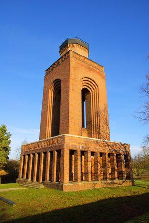 burg: Burg Bismarck tower 06 Stock Photo