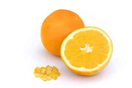 candied orange peel Stock Photo - 11290331