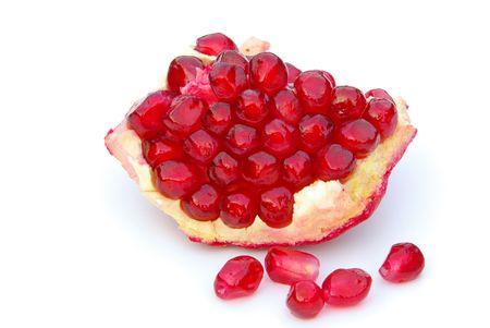 grenadine: pomegranate Stock Photo