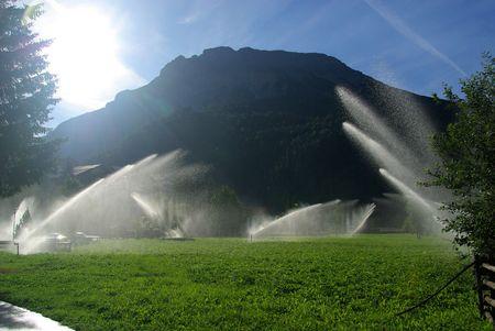 lawn sprinkler: irrigation system 02