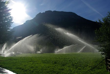 irrigate: watering system
