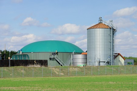 anaerobic: biogas plant