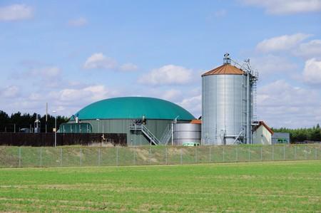 agrar: biomass plant Stock Photo