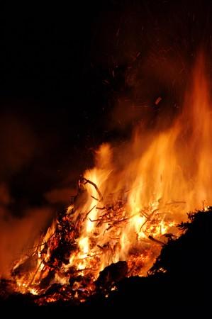 flamme: Hexenfeuer - Walpurgis Night bonfire 84
