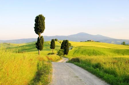 terrapille: Tuscany Stock Photo