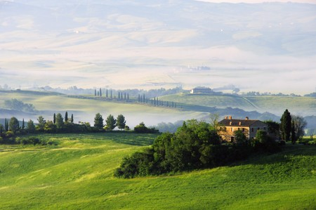 Tuscany hills   Stock Photo - 7471539