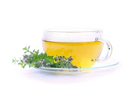 gelb: Tee Thymian - tea thymus 03