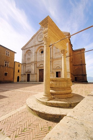 Pienza cathedral photo