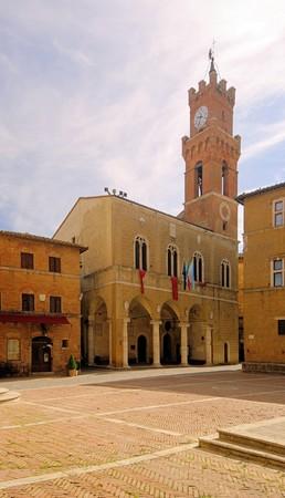 Pienza town hall 01 photo