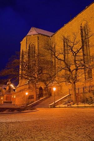 Erz: Annaberg-Buchholz church night 02