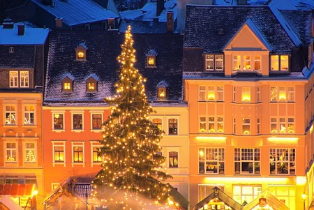 Erz: Annaberg-Buchholz christmas market 03 Stock Photo