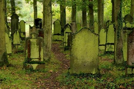 graveyards: jewish cemetary