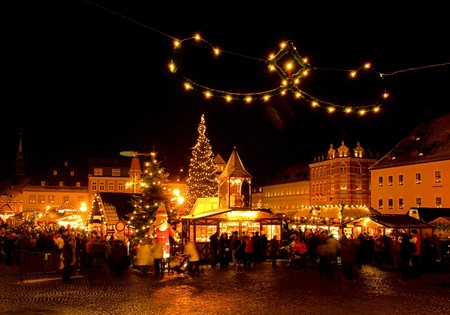 Annaberg-Buchholz christmas market Stock Photo - 8065811