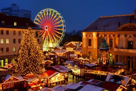 striezelmarkt: christmas