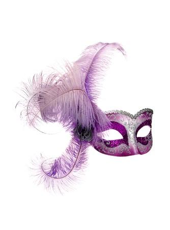masquerade masks: mask isolated 01 Stock Photo