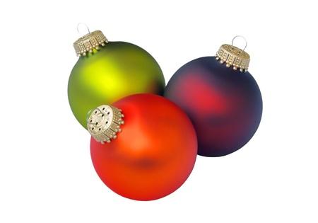 christmas ball isolated 20 photo