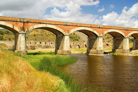 Aliseda bridge photo