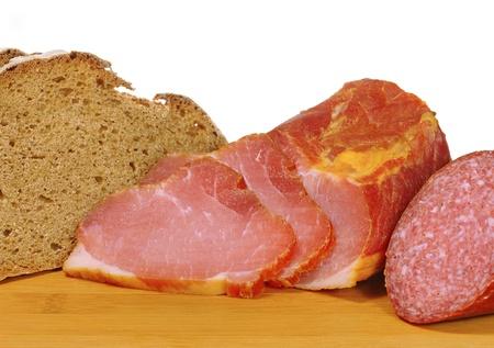 sandwiche: ham Stock Photo
