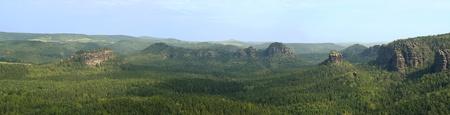 mountain Schrammstein outlook  photo